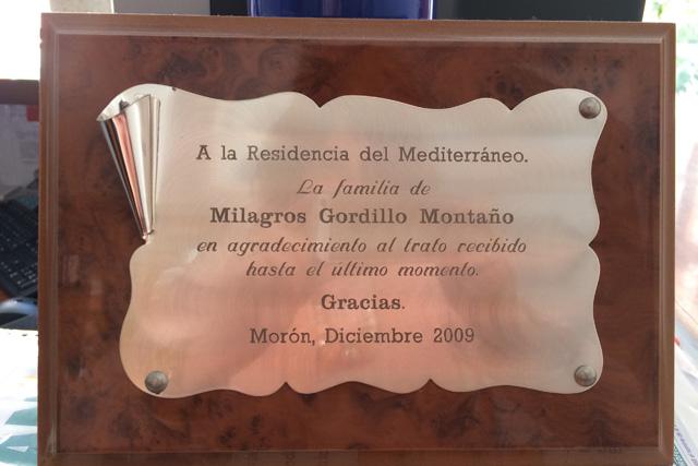 Testimonios - Residencia Geriátrica Mediterráneo